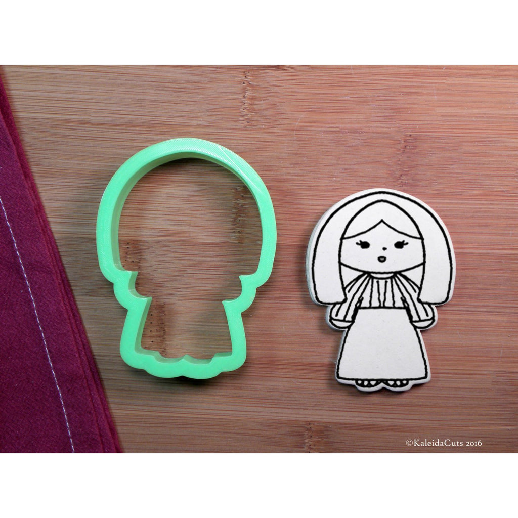 Mary Cookie Cutter