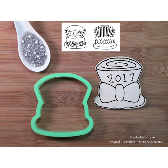 Top Hat with Bow Cookie Cutter