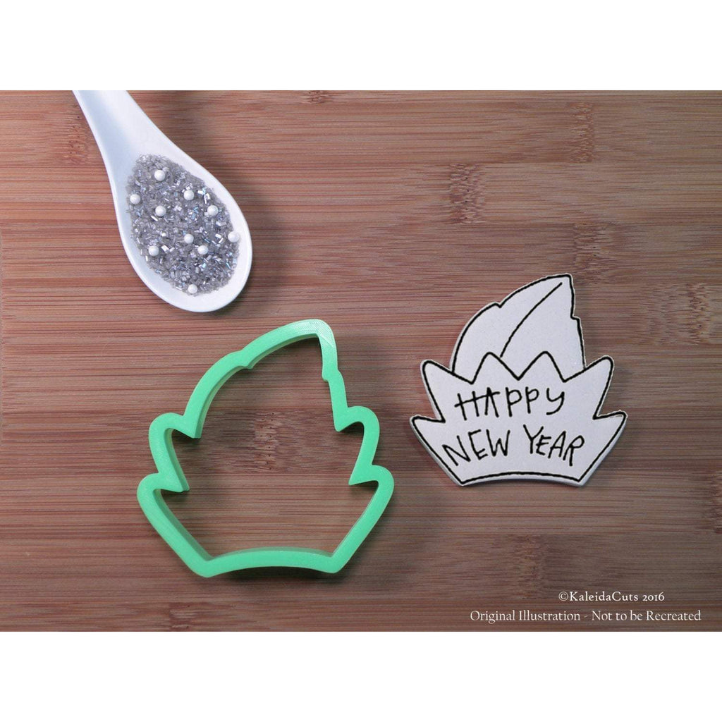 New Year Crown Cookie Cutter