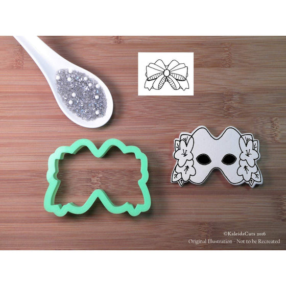 Mask with Flowers Cookie Cutter