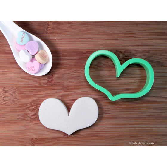 Heart 3 Cookie Cutter