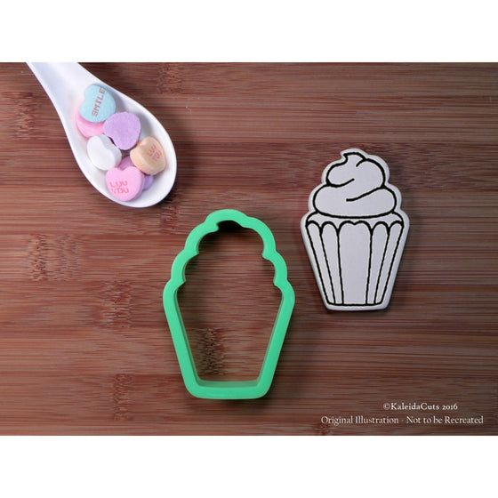 Tall Cupcake Cookie Cutter
