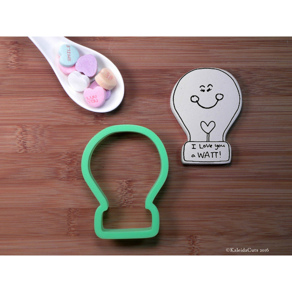 Lightbulb Cookie Cutter