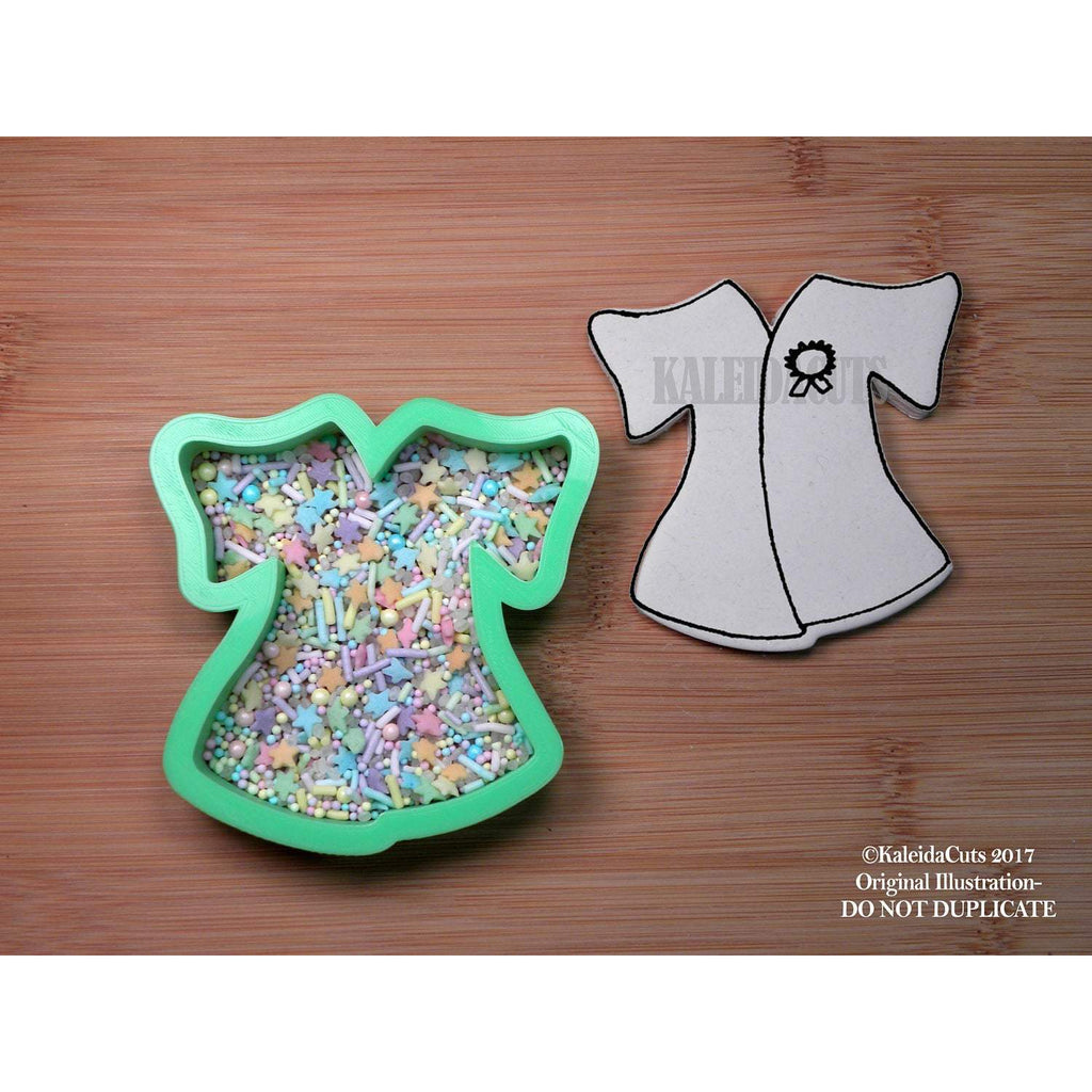 Grad Gown Cookie Cutter