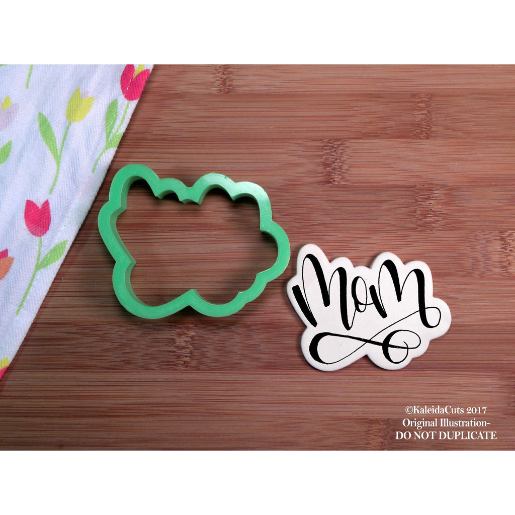 Mom Handlettering Cookie Cutter