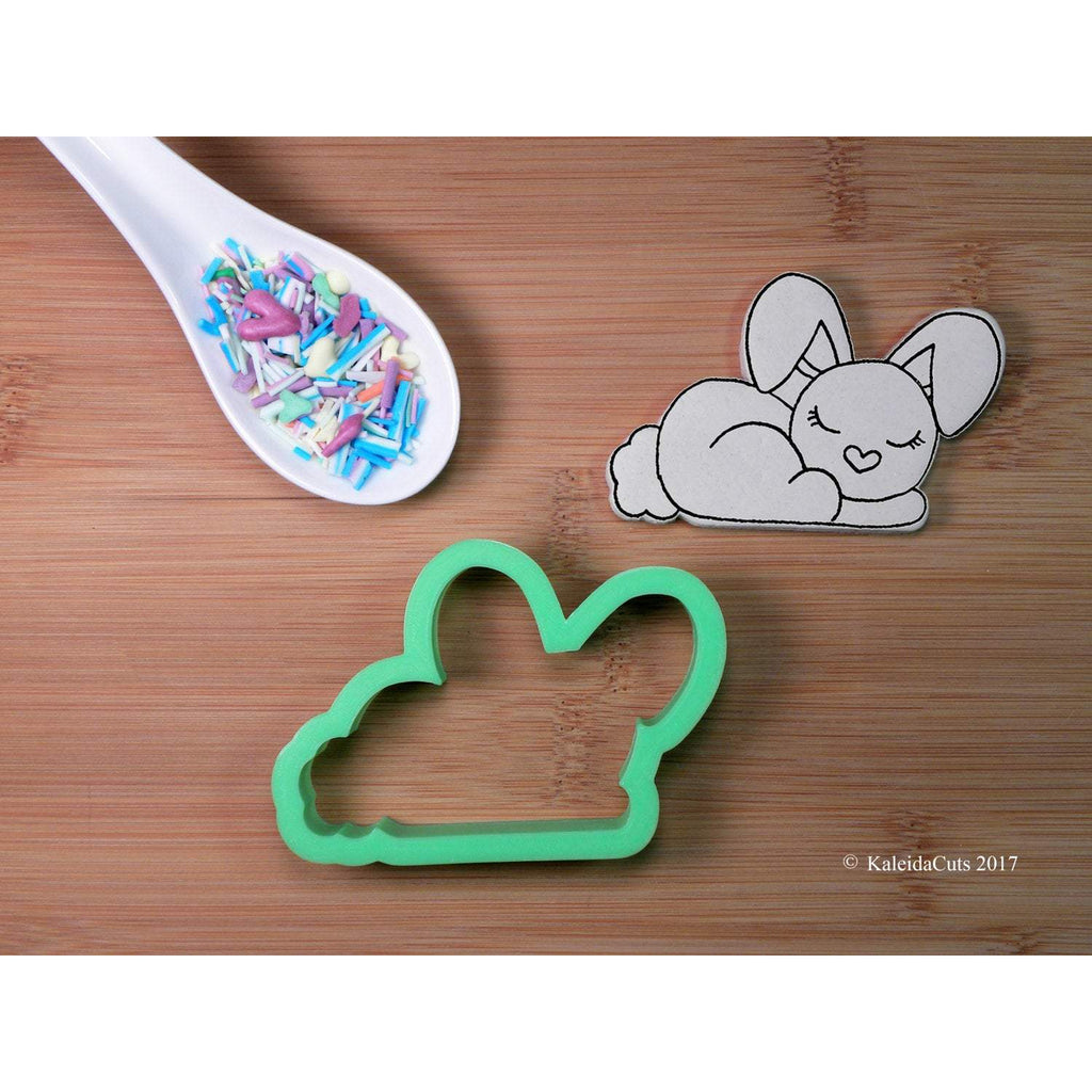 Sleeping Bunny Cookie Cutter