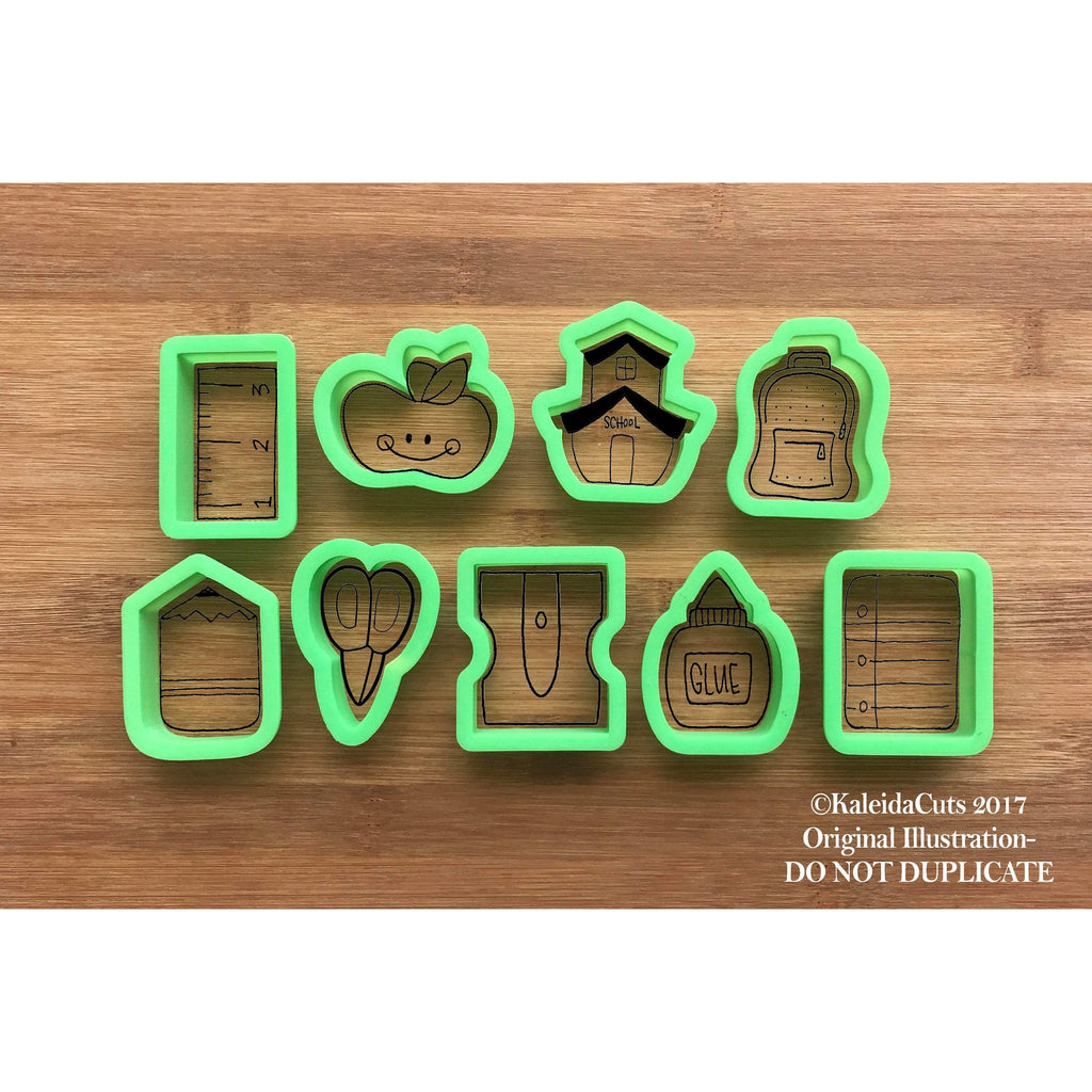 School Themed Cookie Cutters