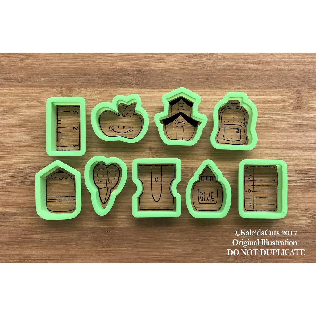 "2"" Mini SET (9 Cookie Cutters)"
