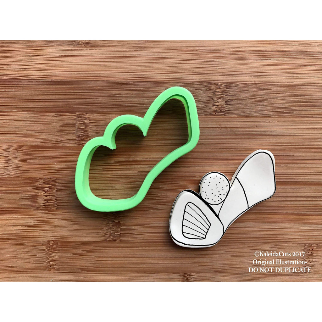 Golf Club Ball Cookie Cutter