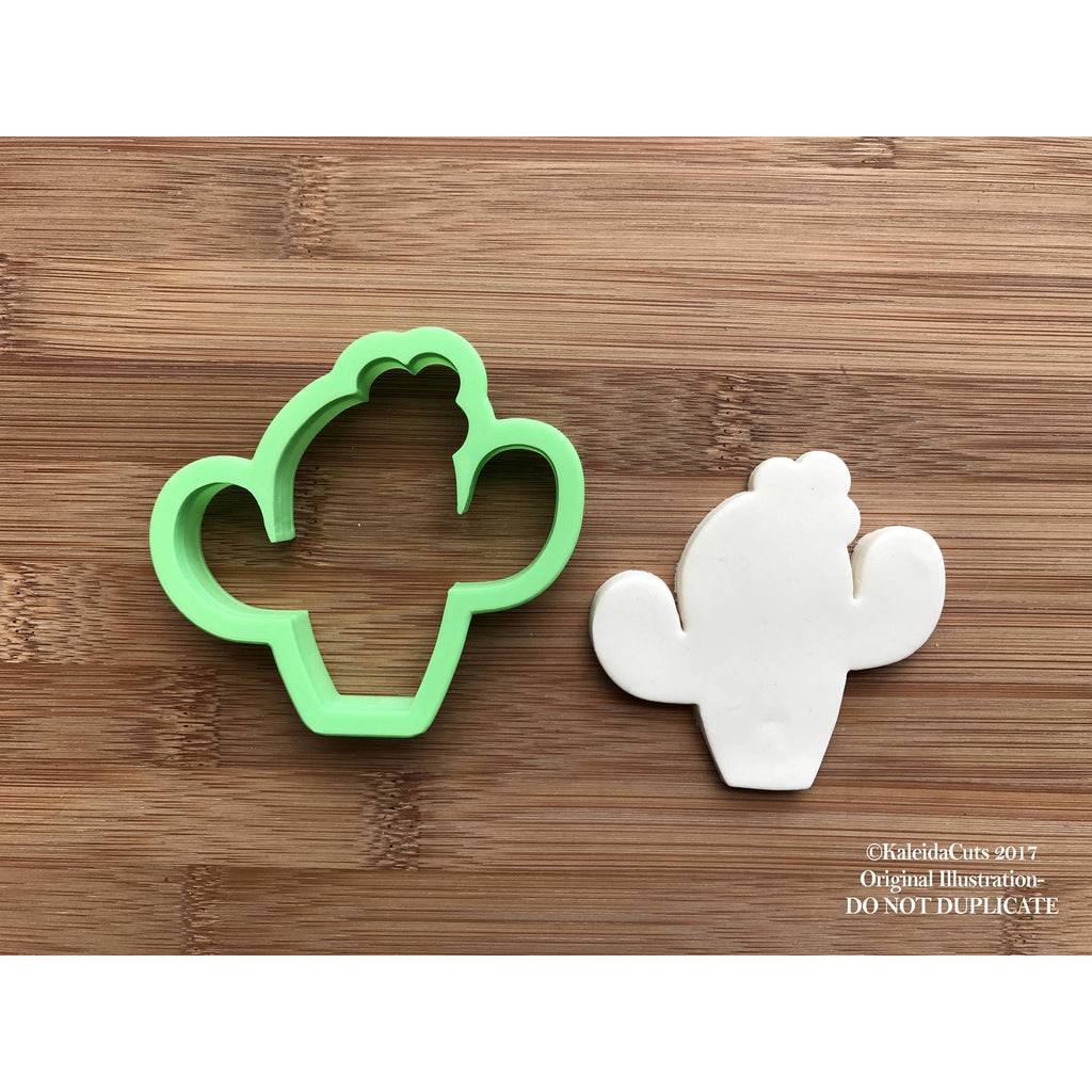 Cactus with Flower Cookie Cutter