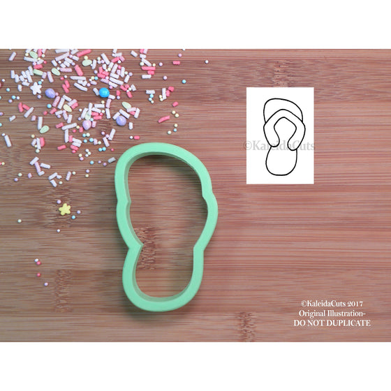 Flip Flop Single Cookie Cutter