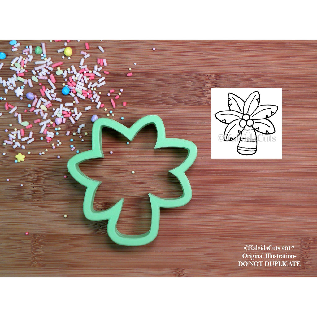 Chubby Palm Tree Cookie Cutter