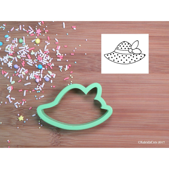 Beach Hat 2 Cookie Cutter