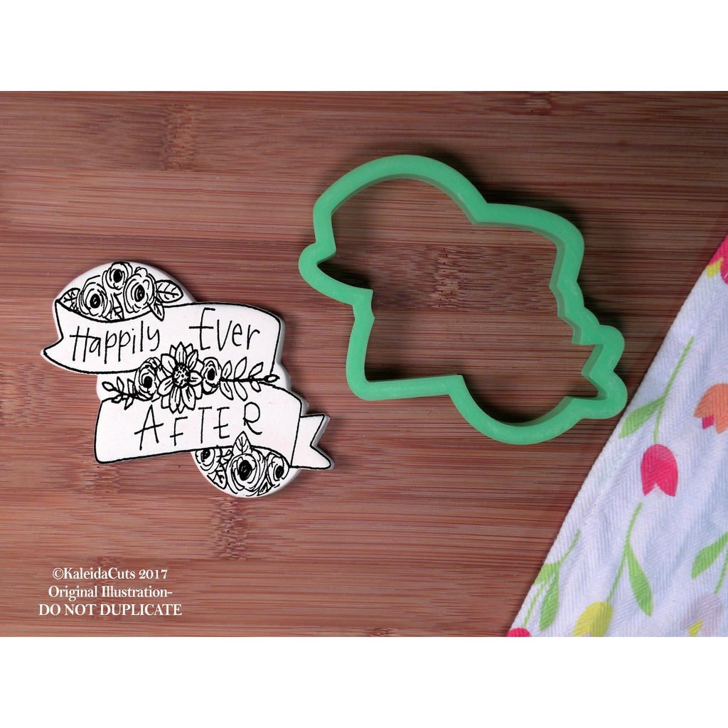 Flower Banner 2 Cookie Cutter