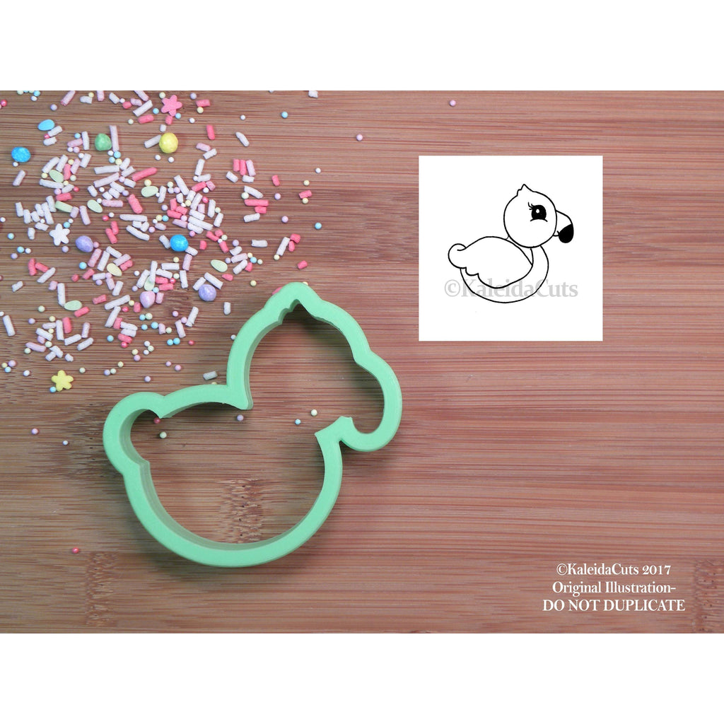 Flamingo Body Cookie Cutter