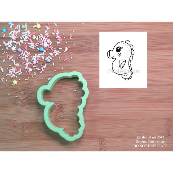 Chubby Seahorse Cookie Cutter
