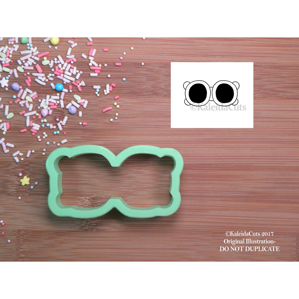 Round Sunglasses Cookie Cutter