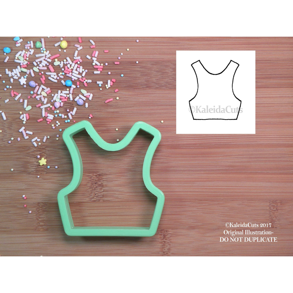 Crop Top Cookie Cutter