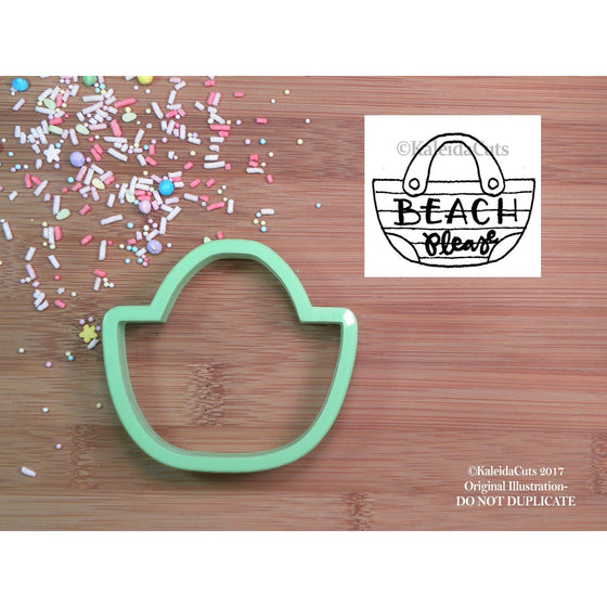 Beach Bag Cookie Cutter