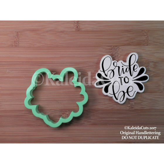 Bride to Be Lettering Cookie Cutter