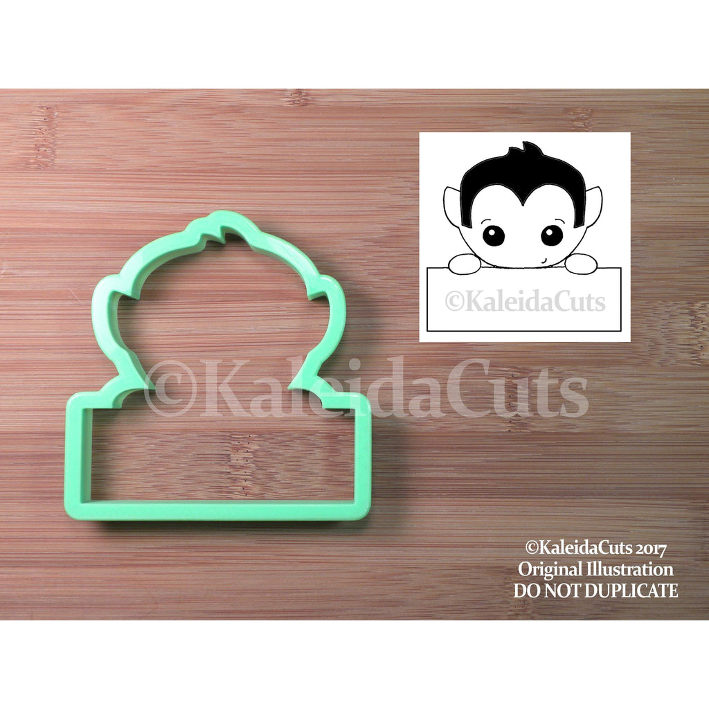 Dracula Plaque Cookie Cutter