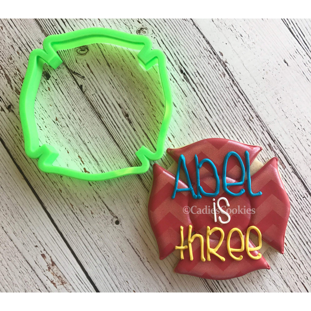 Fireman Badge Cookie Cutter