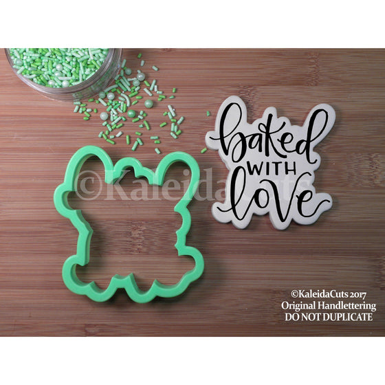 Baked with Love Lettering Cookie Cutter