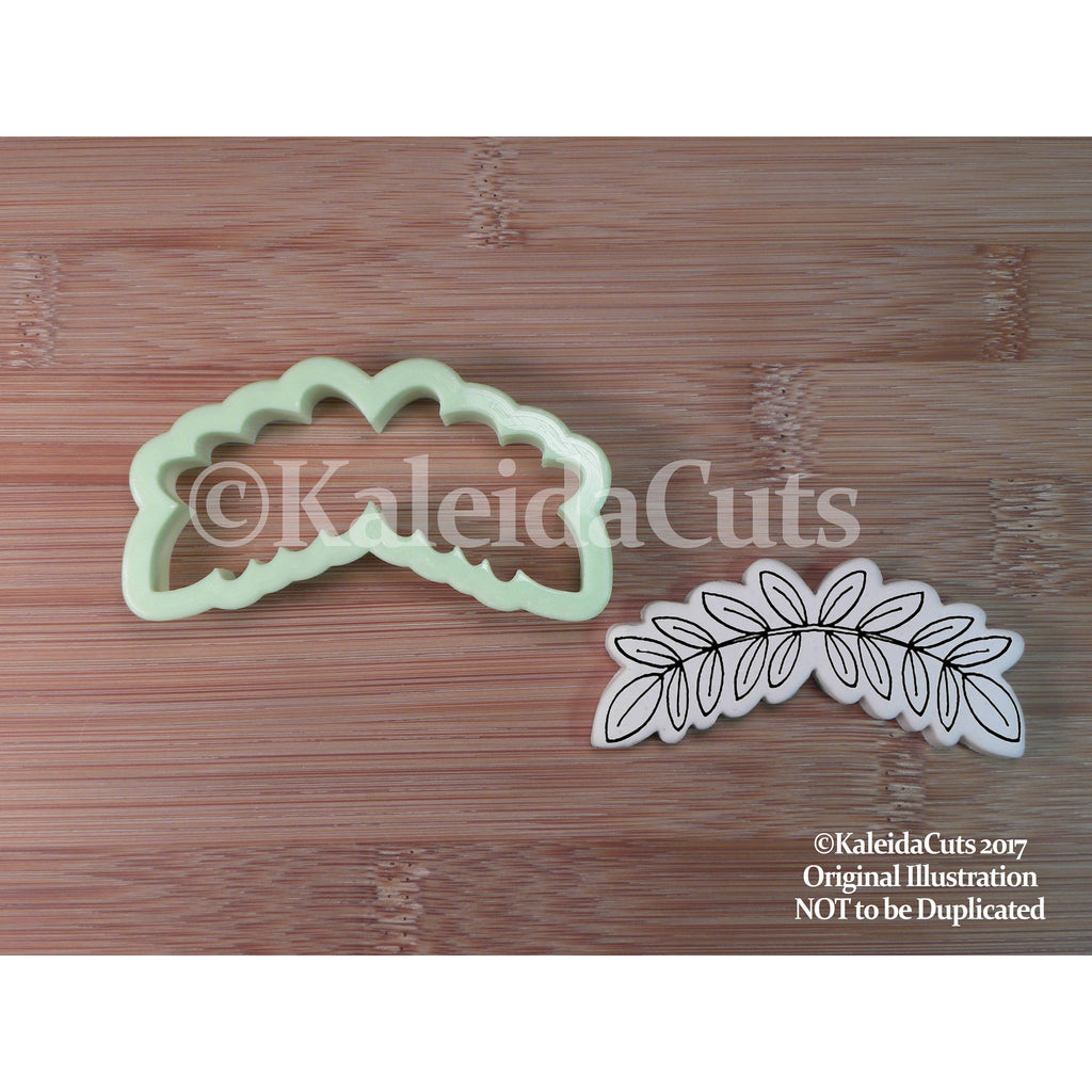 Leaf Banner Cookie Cutter