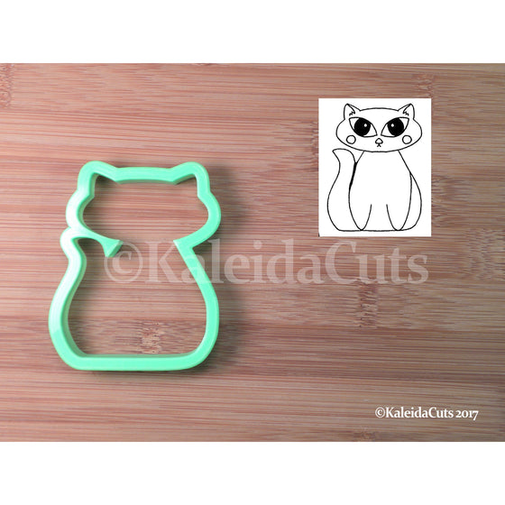 Chubby Cat Cookie Cutter