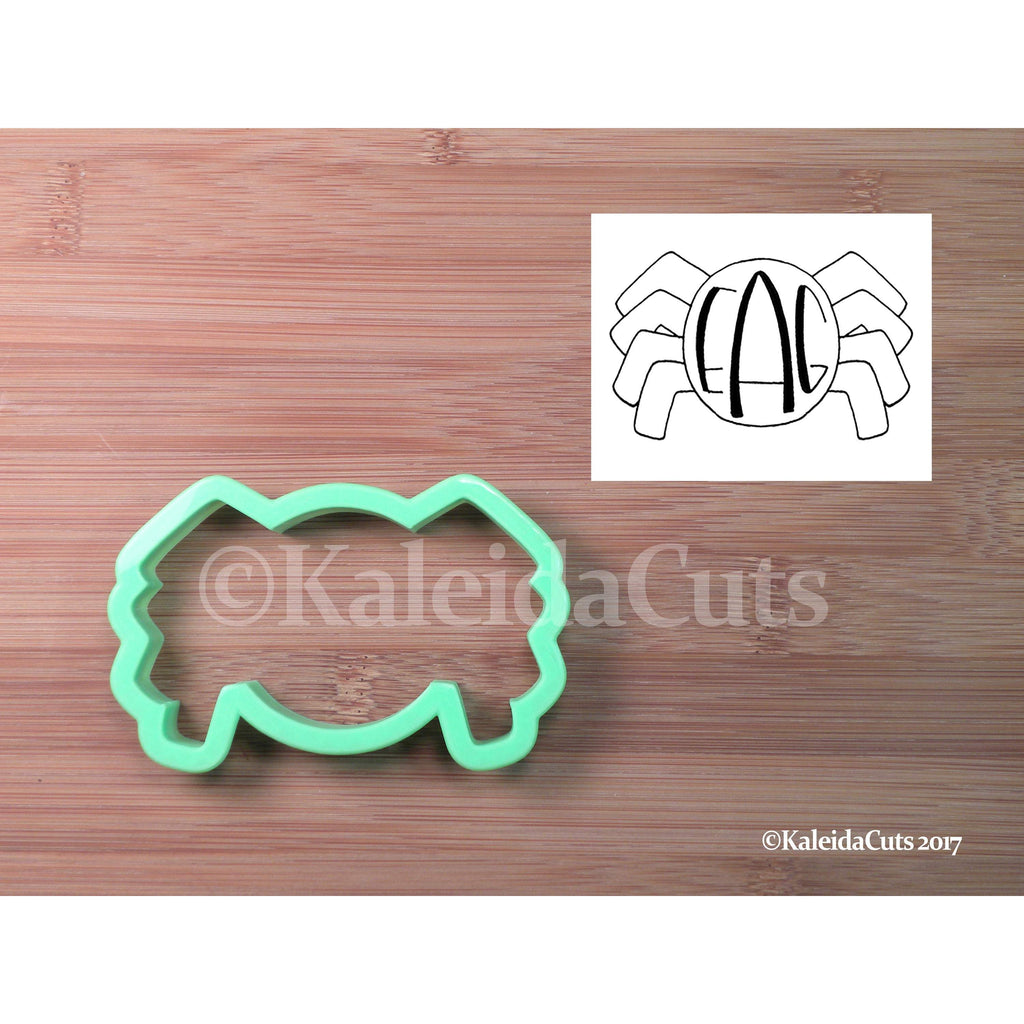 Monogram Spider Cookie Cutter