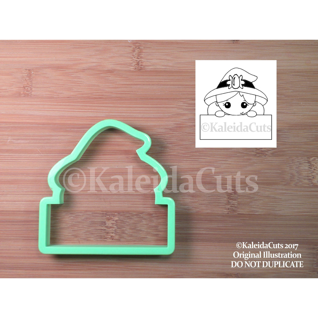 Witch Plaque Cookie Cutter