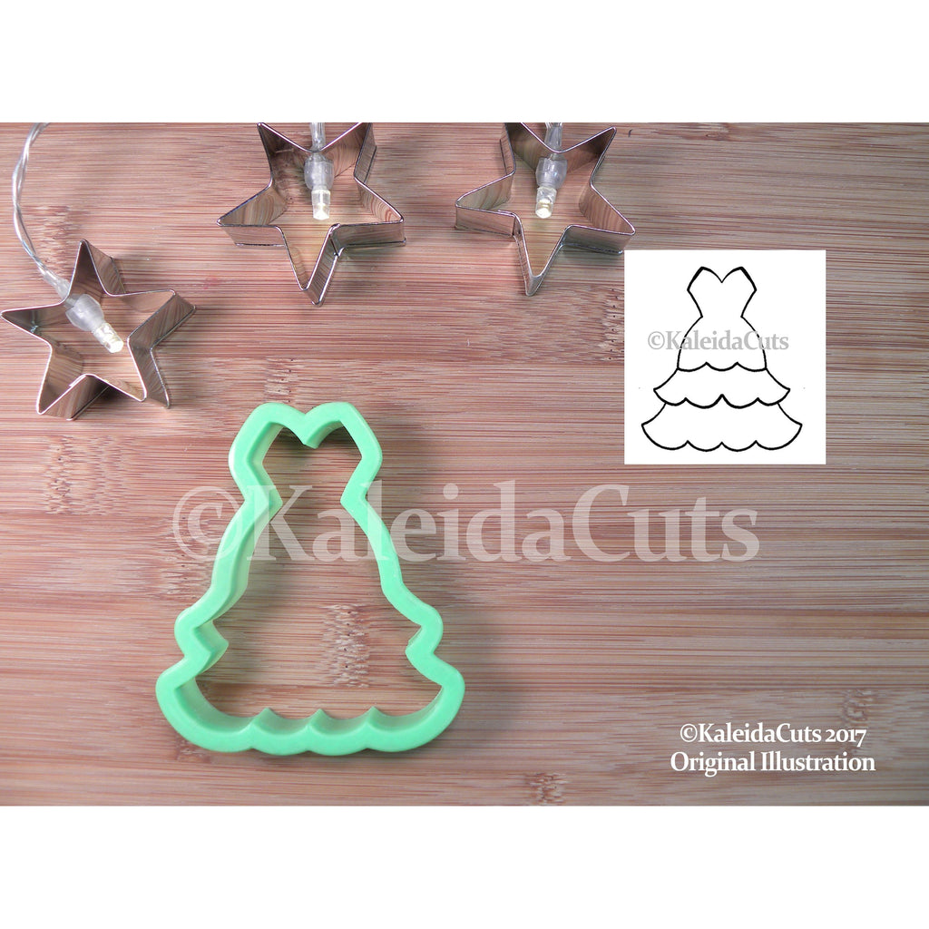 Ball Gown Cookie Cutter