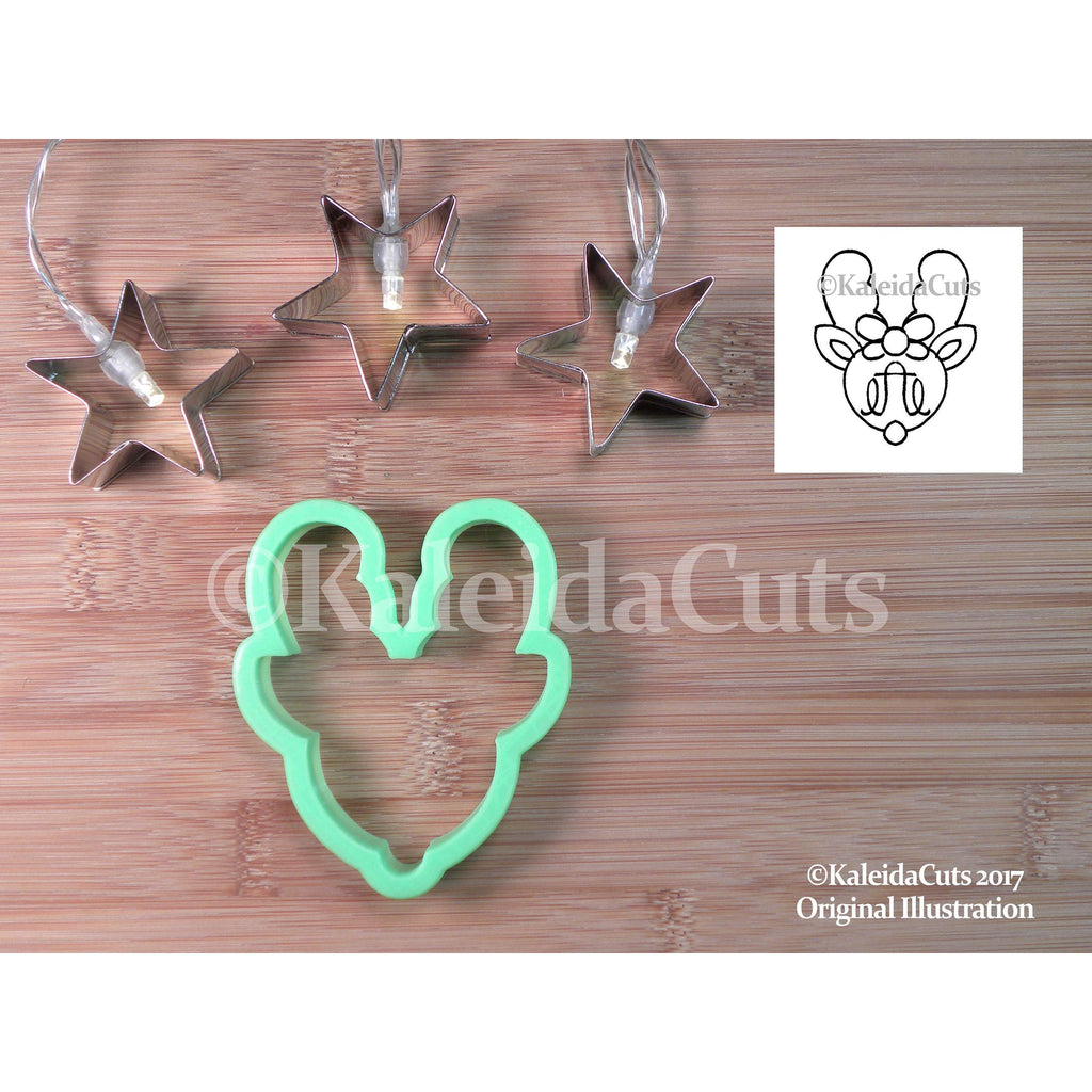 Reindeer Monogram Cookie Cutter