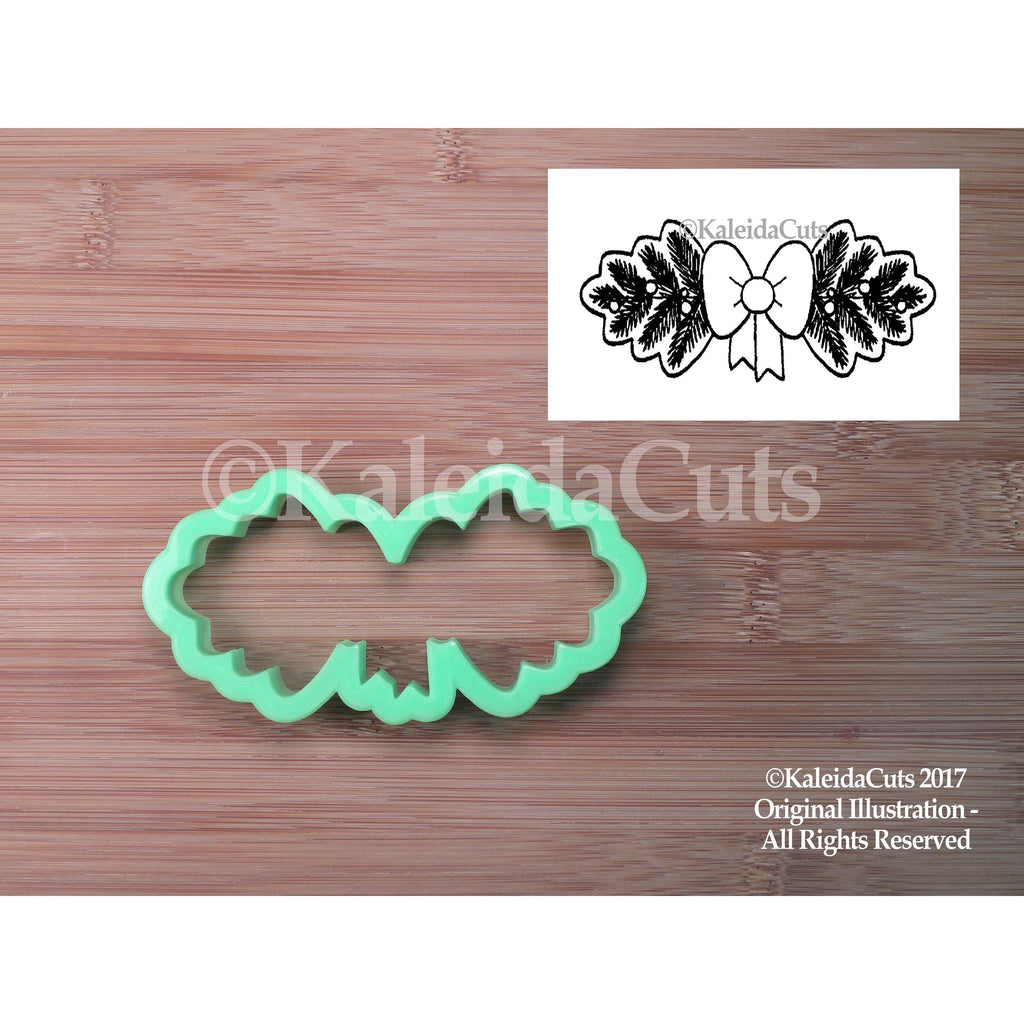 Garland with Bow Cookie Cutter