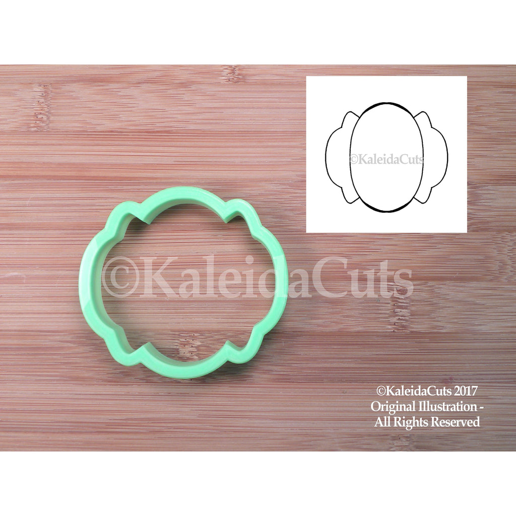 Gina Plaque Cookie Cutter