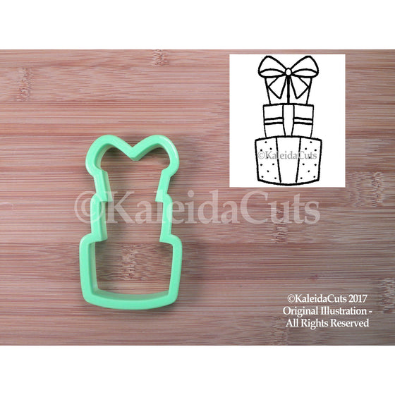 Present Stack Cookie Cutter
