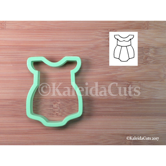 Ruffle Romper Cookie Cutter