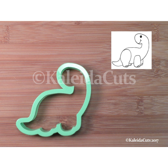 Brontosaurus Cookie Cutter