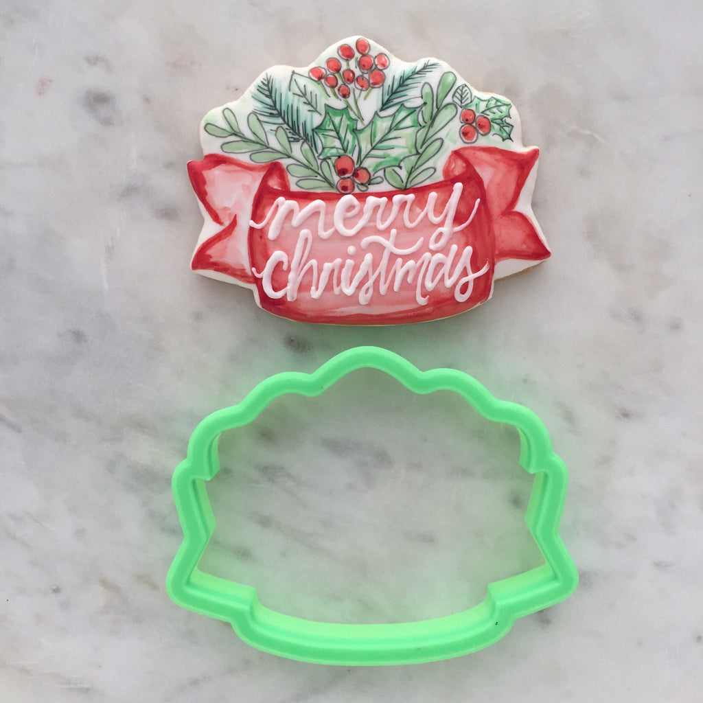 Holiday Banner VIP Cookie Cutter
