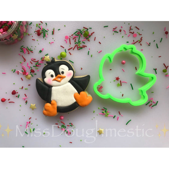 Happy Penguin VIP Cookie Cutter