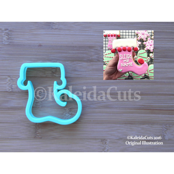 Elf Stocking Cookie Cutter