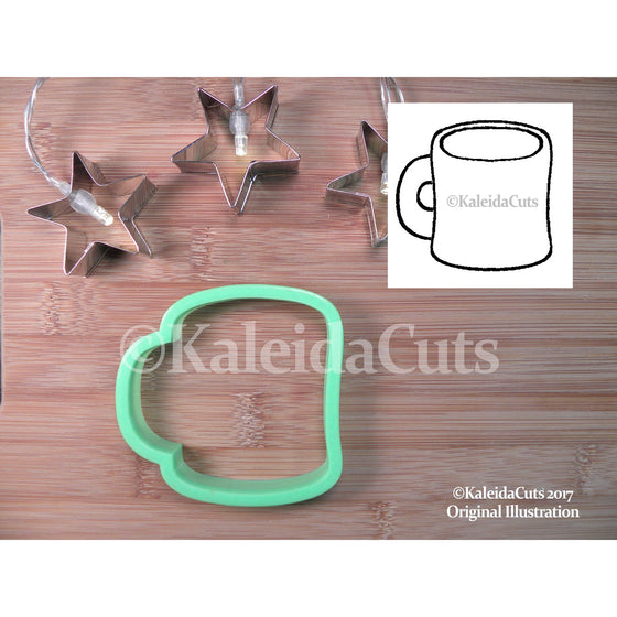 Chubby Coffee Cup Cookie Cutter