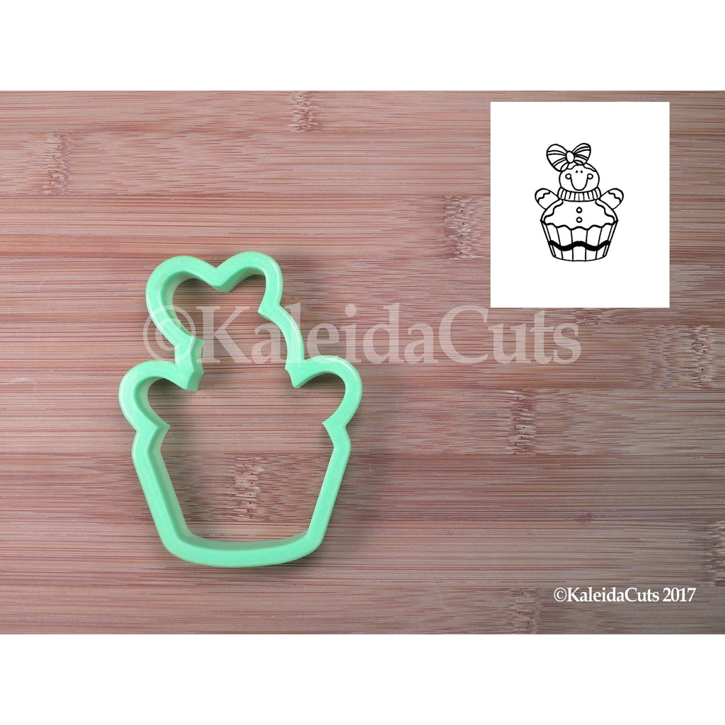 Gingy Cupcake Cookie Cutter