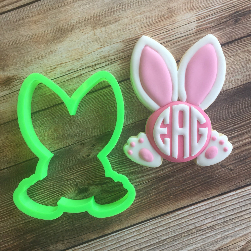 Monogram Bunny Cookie Cutter