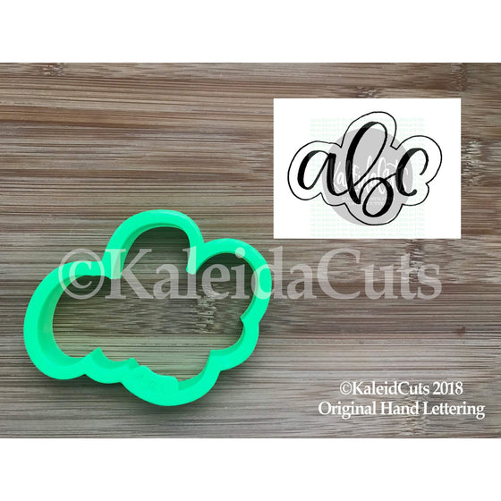 ABC Cursive Cookie Cutter