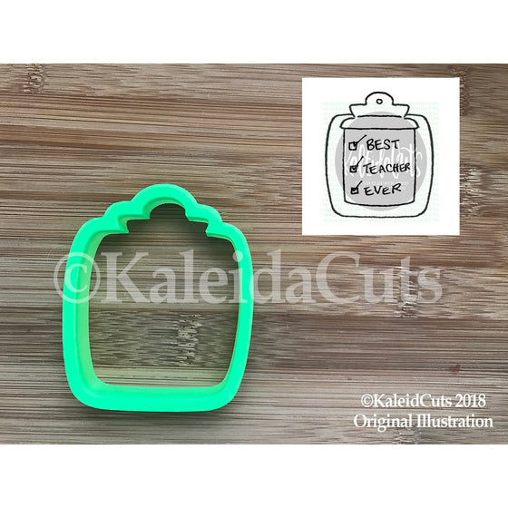 Clipboard Cookie Cutter