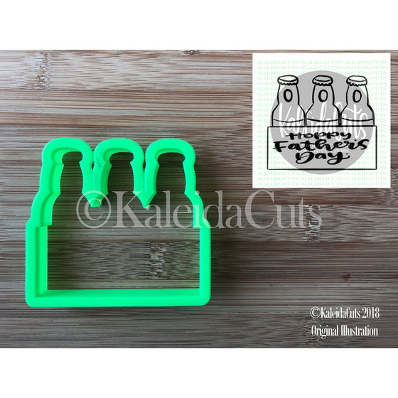 Bottle Plaque Cookie Cutter