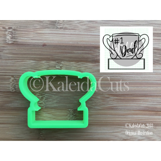 Trophy Plaque Cookie Cutter