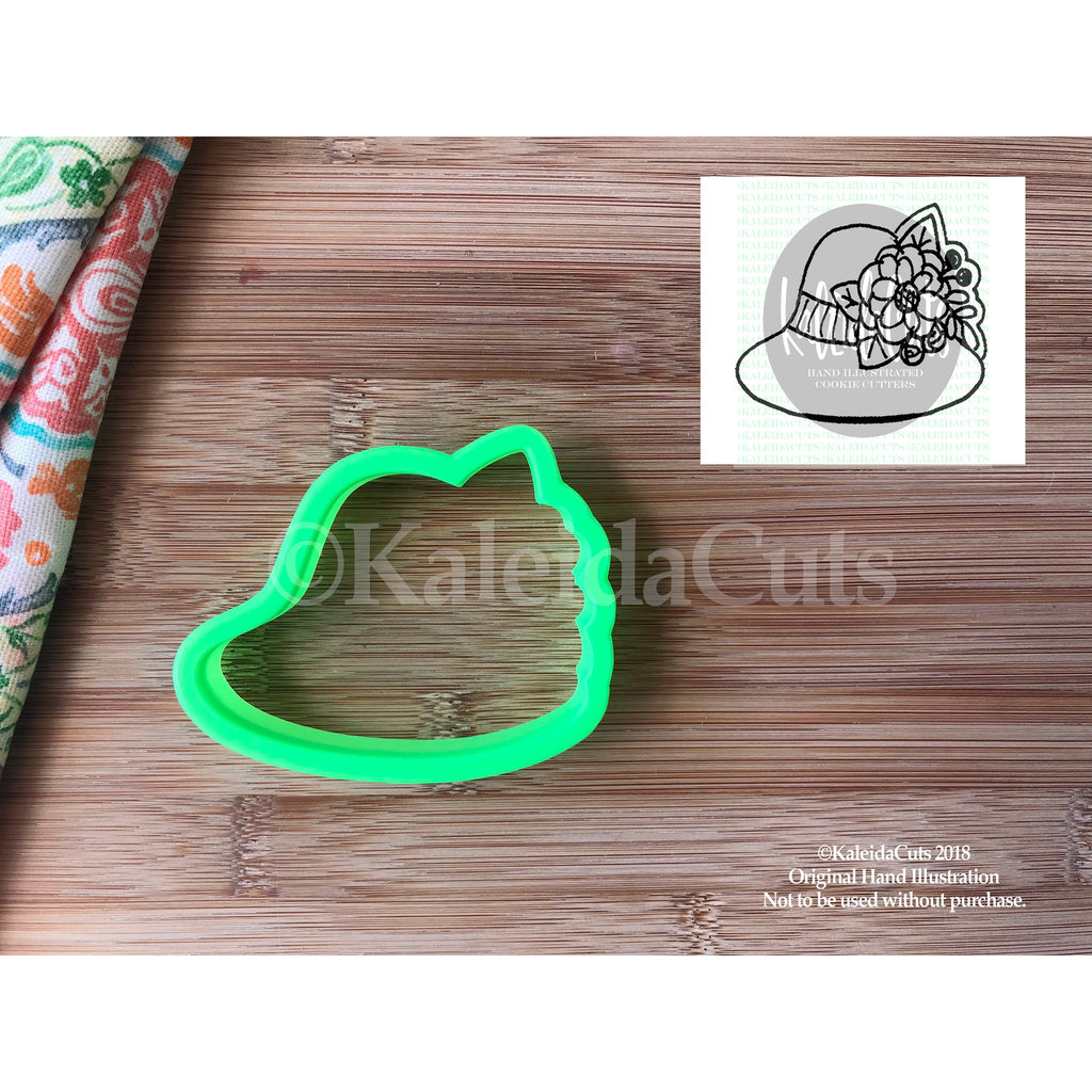 Floral Hat Cookie Cutter
