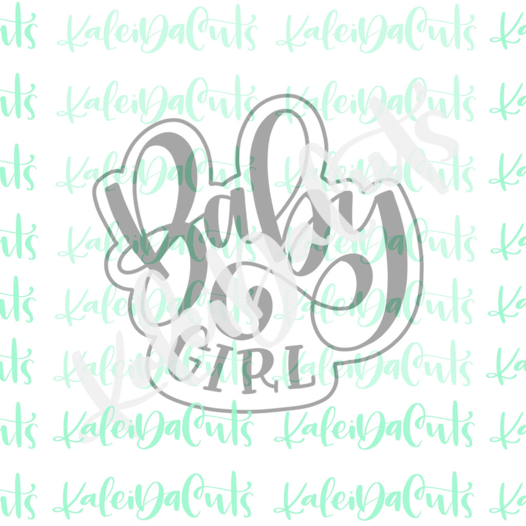 Baby Boy/Girl Plaque Cookie Cutter